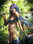 Styx - Legend Of The Cryptids Fan Art by SkavenZverov