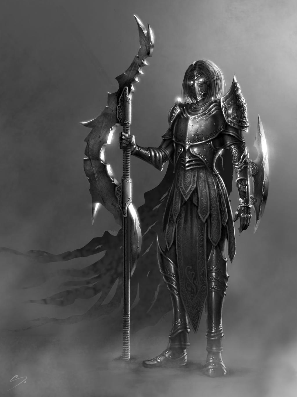 Railla, Cursed Warrior - Character Concept Art by ...