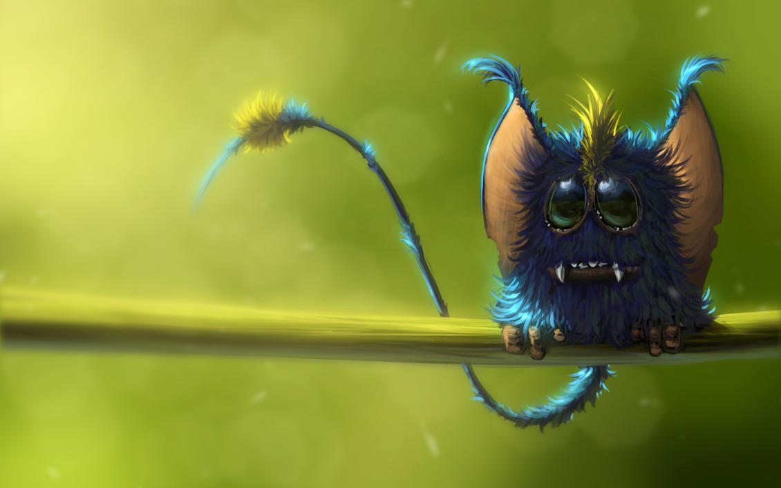 Furry Devourer Of Dimensions - Project Antharra by SkavenZverov