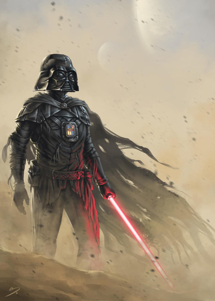 Darth Vader - Old Armor by SkavenZverov