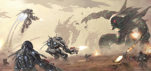 Great Battle by SkavenZverov