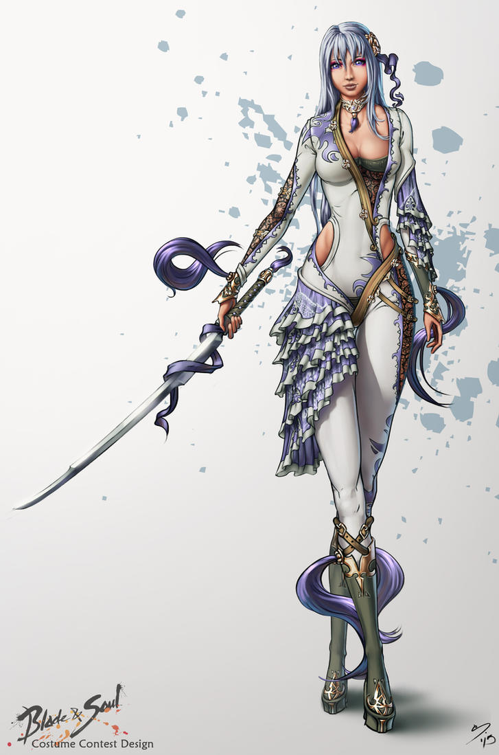 Yeo Soul And Blade Contest Costume Design Fan Art by SkavenZverov