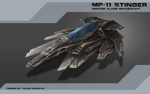 MP-11 Stinger Design by SkavenZverov