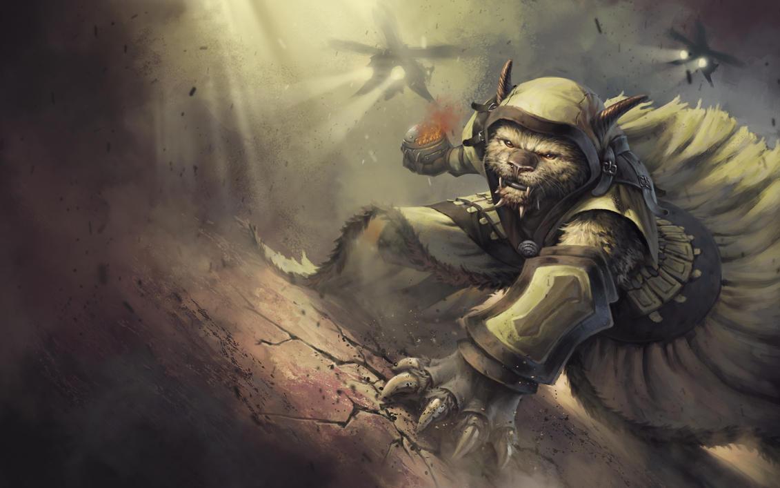 Guild Wars 2 Fan Art - Charr Engineer by SkavenZverov