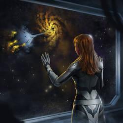 Saying good bye - Album Cover by SkavenZverov