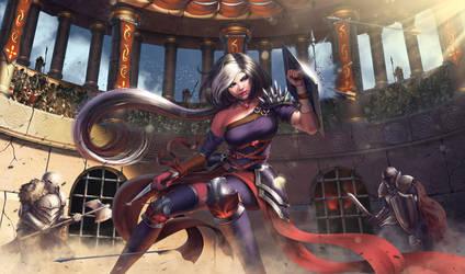 Adalia - Colosseum Fight by SkavenZverov