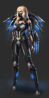 Sci Fi Warrior - Design Concept Art