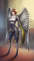 Battle Angel Sci Fi Concept Art