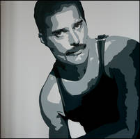 freddy mercury by bfreaky