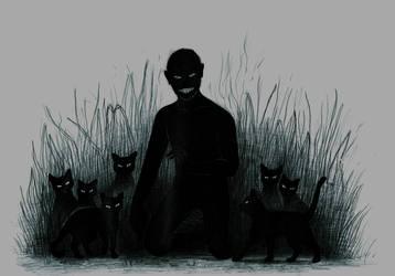 black_cat by crystal-chidori