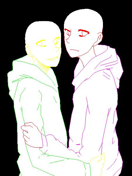 gay anime base