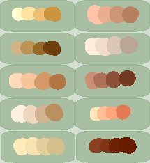 Skin Palette by MissMort-Bases