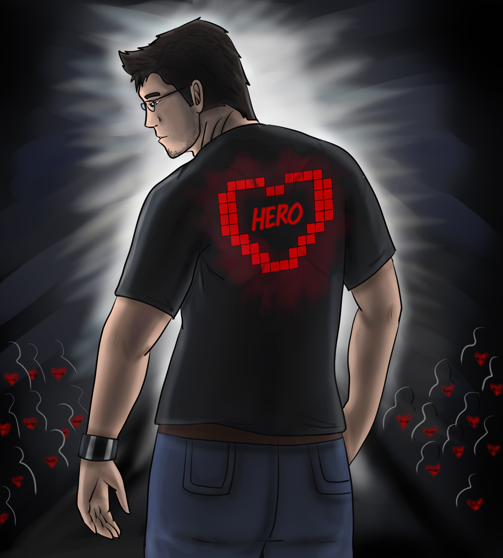 Markiplier's Heroes by SmashGal