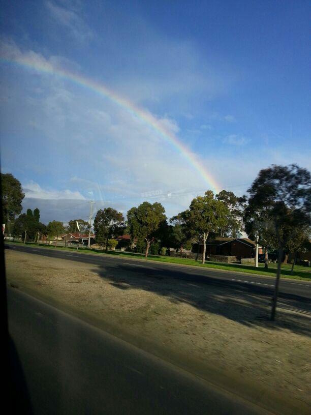 Somewhere Over the Rainbow by TasmanianDevilzz