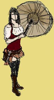 Girl gypsy :mspaint:
