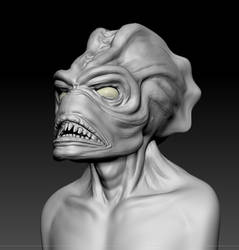 Practise Sculpt Head by MissMerlynn