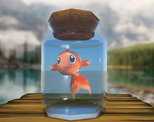 Goldfish by MissMerlynn