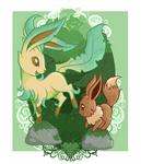 Eevee Evolutions - Leafeon