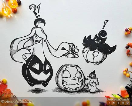 Inktober 2019 - Pumpkin Surprise