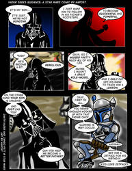 Vader Seeks Parenting Guidance by Hapo57