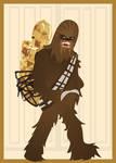 Chewbacca and Threepio