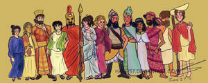 Greco-Persian War Height Chart