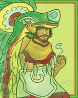 84. Quetzalcoatl by Hapo57