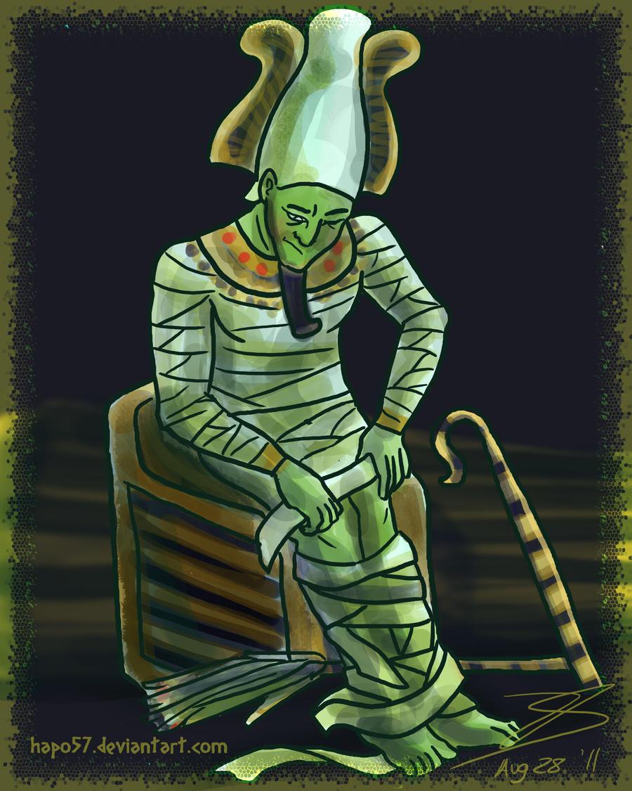 54. Osiris by Hapo57 on DeviantArt