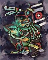 85. Tezcatlipoca by Hapo57