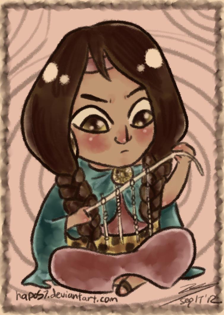 Inca Clothing Drawing