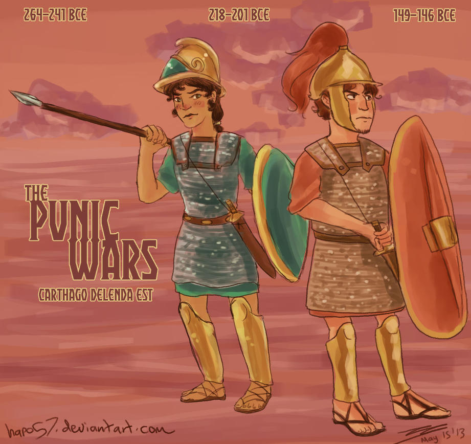 rome and carthage relationship