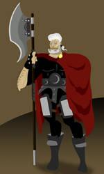 Areo Hotah by Sir-Heartsalot