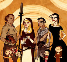 Sand Snakes by Sir-Heartsalot