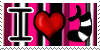 I Love Sock-N-Socks Support Stamp by AskSock-N-Socks