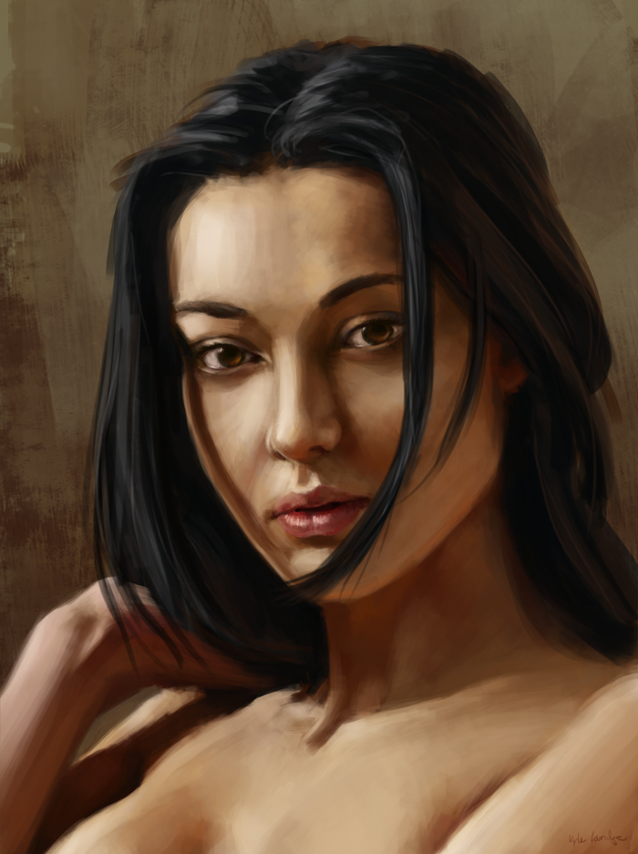 Portrait Study by Machariel