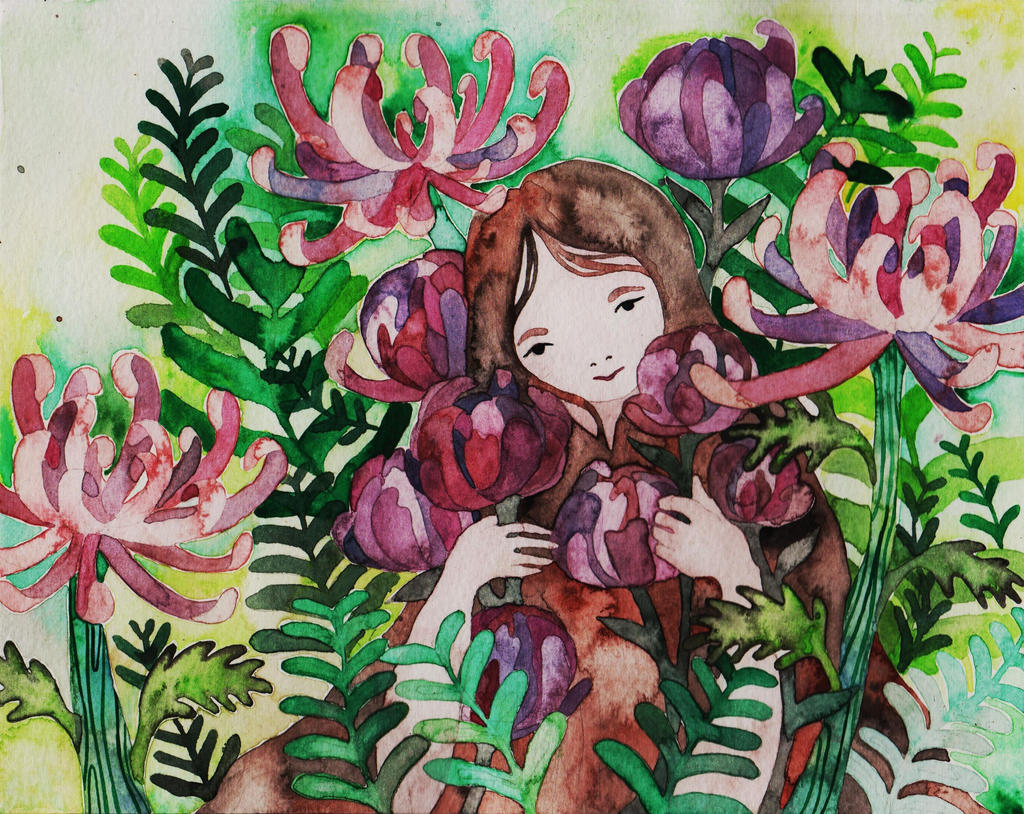 pretty flowers by Junepaek