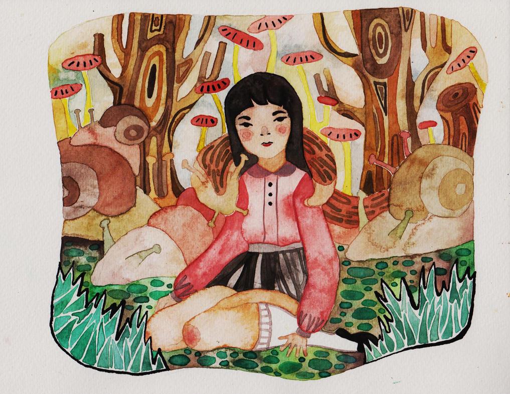 slugs are my friends by Junepaek