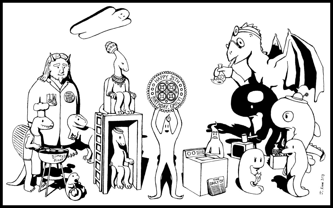 The World of Kuey and Creepy by Agahnim