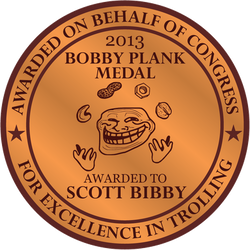 The Bobby Plank Medal (2013)