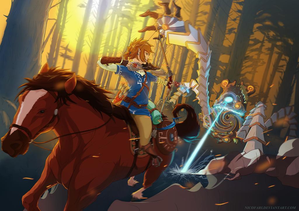 Zelda Wallpaper Breath Of The Wild: Breath Of The Wild By NicoFari On