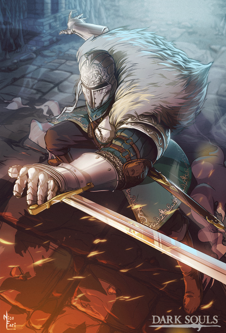 Dark Souls Fanart By NicoFari