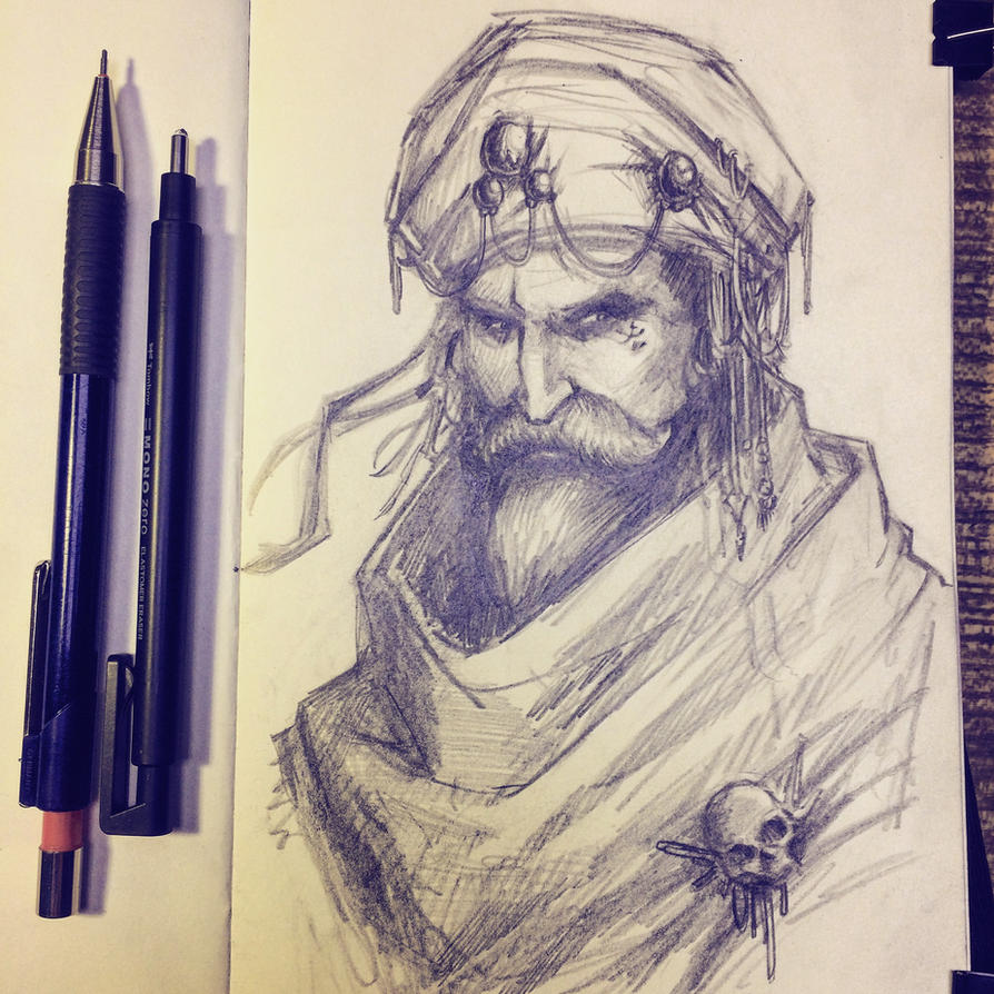 Portrait study by NicoFari