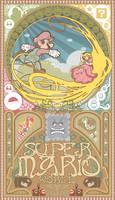 Super mario world-Art nouveau