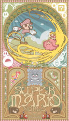 Super mario world-Art nouveau