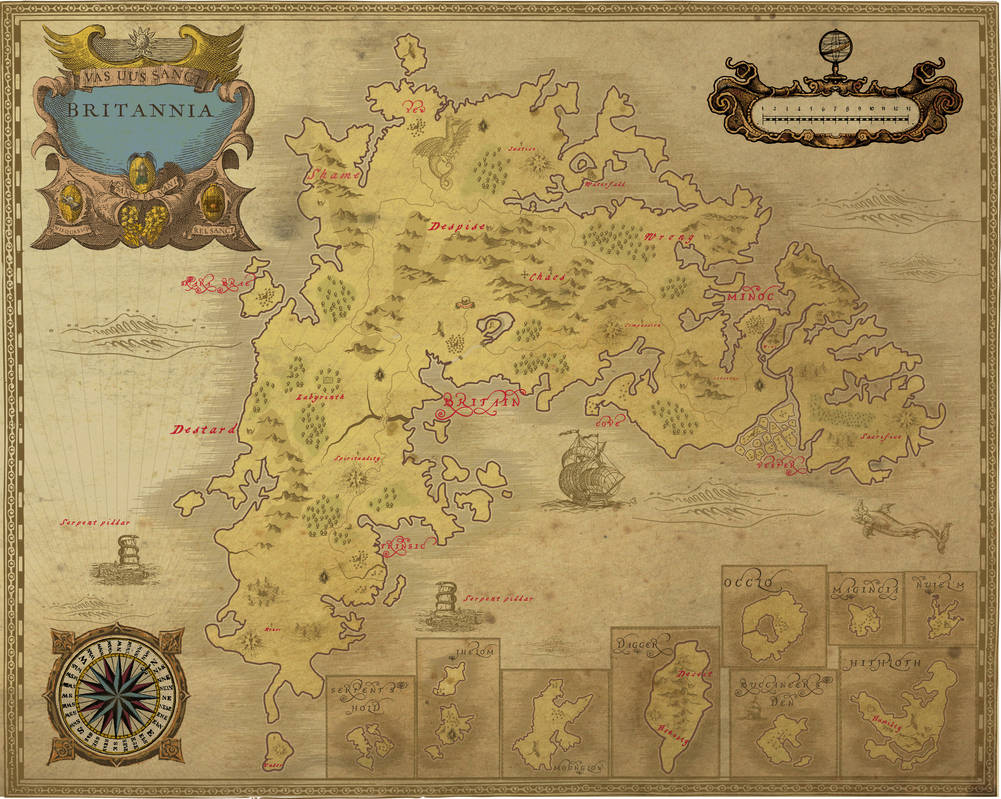 Ancient Ultima online Britannia map by NoxIllunis971 on DeviantArt