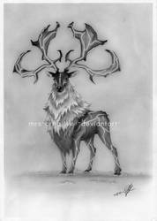 Lightning Stag by mrs-creative