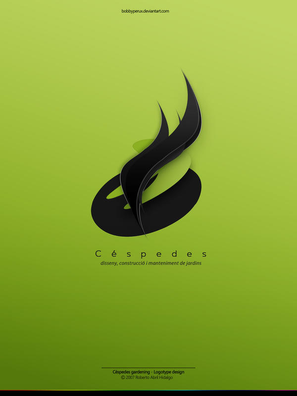 Cespedes Logotype by Bobbyperux