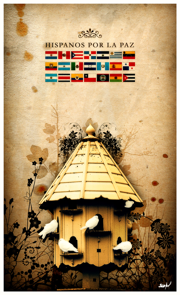 Hispanos por la Paz by Bobbyperux