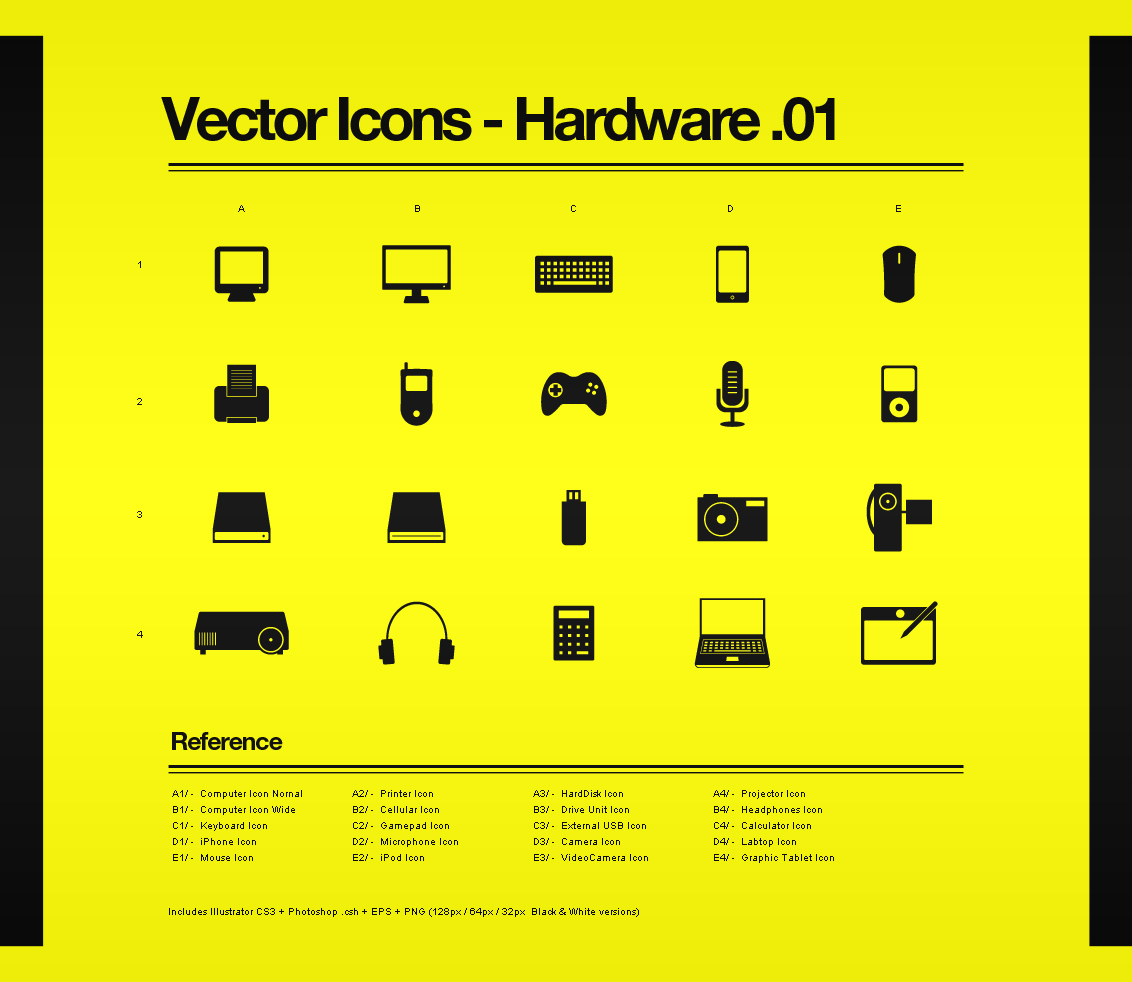 Vector Icons - Hardware 01 by Bobbyperux on DeviantArt
