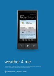 weather 4 me WP7 free application